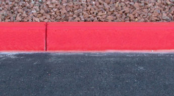 what a red curb means