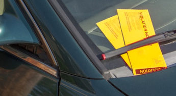 insurance and parking tickets